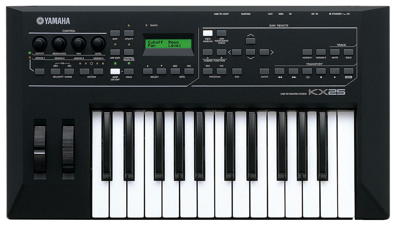 KX25, KX49, KX61 y KX8 Nuevos teclados de Yamaha_KX25
