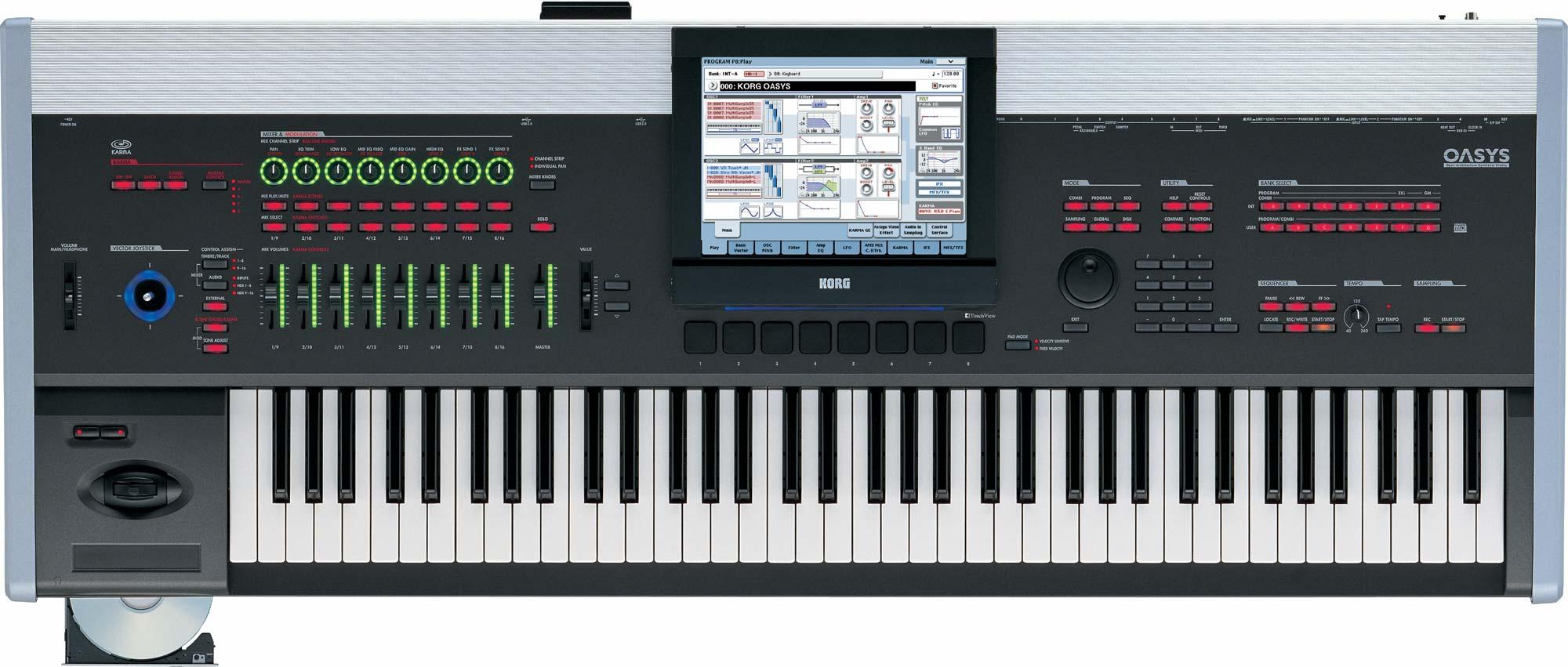 korg una de las mejores marcas de teclados pianos sintes taringa. Black Bedroom Furniture Sets. Home Design Ideas