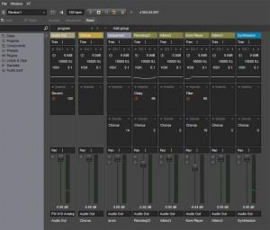 energyXT 2.5 Mixer