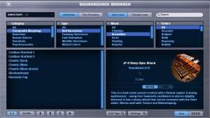 Omnisphere fuentes de sonido