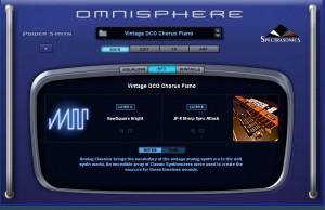 Ventana info de omnisphere