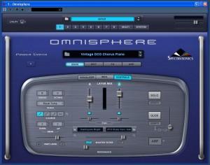 Ventana principal de Omnisphere