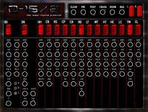 D15/2 Anlog Drum Machine