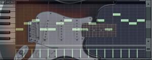 Partes de guitarra MIDI