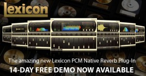 Lexicon PCM Native Reverb Plug-in